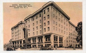 11432 Hotel Monticello, Kentucky Avenue, Atlantic City, New Jersey