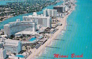 Florida Miami Beach Aerial View 1983