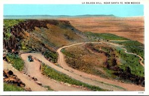New Mexico Santa Fe La Bajada Hill Curteich