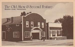 Pennsylvania Meadow Lands The Old Show & Second Feature Antiques & Books