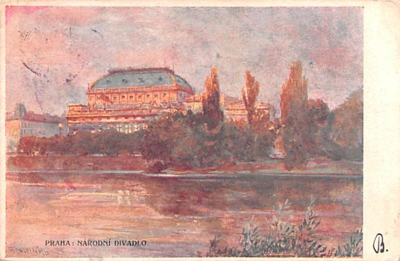 Artist Engelmuller 1906