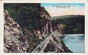 Virginia New River The Palisades Near Roanoke