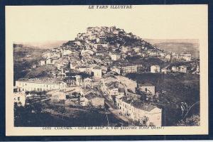 Cordes-sur-Ciel Tarn France unused c1920's