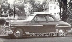 1949 Chrysler Windsor Club Coupe Automotive, Autos, Cards Old Vintage Antique...