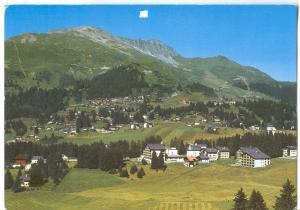 Switzerland, Valbella-Lenzerheide, Valbella-Fastatsch mit Statzerhorn, 1993 used