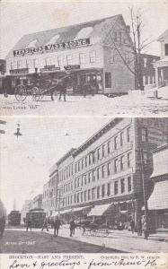 BROCKTON , Massachusetts , Past & Prescent , PU-1906
