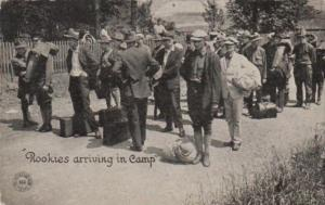 Military Rookies Arriving In Camp