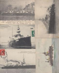 MARINE NATIVE SHIP 568 Cartes Postales 1900-1940