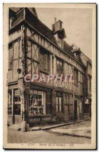 Old Postcard Sens House Dite D & # 39Abraham