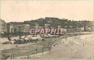Postcard Old San Sebastian La playa