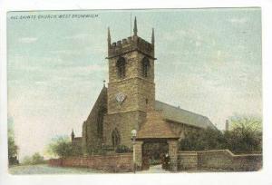 West Bromwich, England. All Saints church, 1900-10s