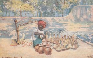 The Potter , India , 00-10s ; TUCK 8993
