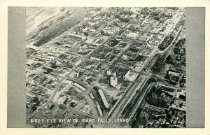 ID, Idaho Falls, Bird's Eye View, Graycraft No. I-3