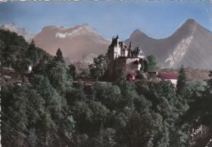 RP; Colored, MENTHON, St. Bernard, Chateau de Menthon et les Montagnes du bou...