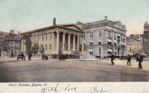 DAYTON, Ohio, PU-1906; Court Houses
