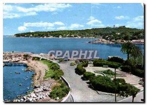 Modern Postcard Antibes Cape and Lighthouse