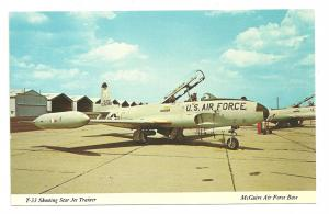 T-33 Shooting Star Jet Trainer, McGuire Air Force Base