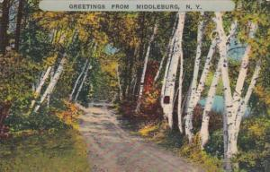 New York Greetings From Middleburg 1940