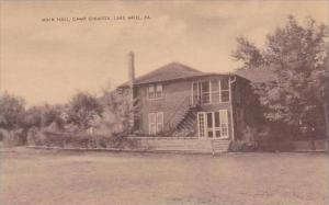 Pennsylvania Lake Ariel Main Hall Camp Owaissa Artvue