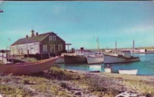 Massacusetts Cape Cod Fishing Pier Chatham 1950