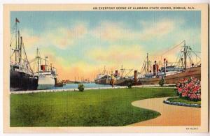 State Docks, Mobile Ala