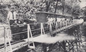 BENTON HARBOR , Michigan, 1910s , House of David Miniature Train