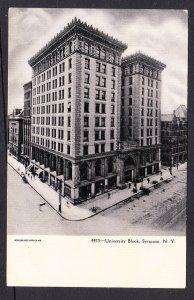 NY – Syracuse University Block