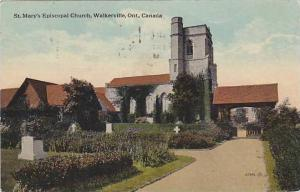 Exterior, St. Mary's Episcopal Church, Walkerville,  Ontario, Canada, PU-00-10s