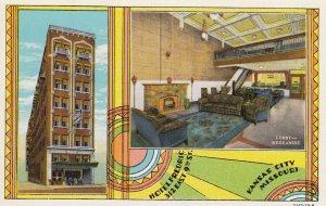 KANSAS CITY , Missouri, 1930-40s ; Hotel Fredric
