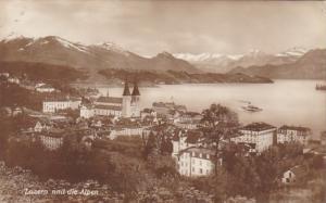 Switzerland Luzern und die Alpen Photo