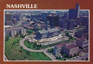 Tennessee Nashville Aerial View