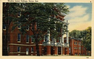 DE - Dover. Wesley Junior College