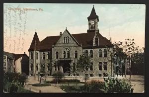 City Hall Johnstown Pa 1909 The Valentine & Sons' Publ Co
