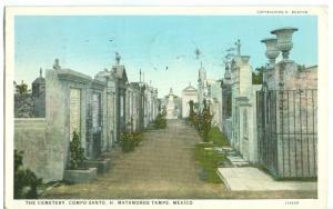 Mexico, The Cemetery, Compo Santo, H. Matamoros Tamps