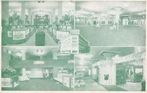 Asheville North Carolina~Ivey's Department Store~Interior Views~Inside Out~1940s