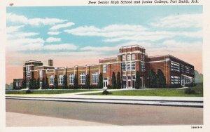 FORT SMITH , Arkansas , 1930-40s; New Senior High School and Junior College