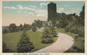 PETERBOROUGH , Ontario , 1910-30s ; St John's Church