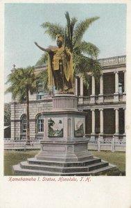 HONOLULU , T.H. , 1901-07; Kamehameha I. Statue