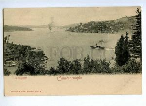 190684 TURKEY CONSTANTINOPLE Le Bosphore Vintage postcard
