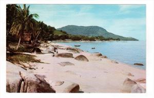 PENANG, Malaysia; Sea Coast, Beach, 40-60s