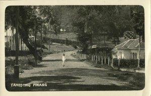 indonesia, TANJUNG PINANG, Bintan, Riau Archipelago, Street Scene (1920s) RPPC