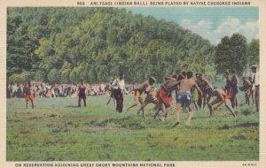 Ani-Tsagi Game , Cherokee Indians , 30-40s