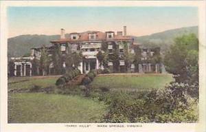Virginia Warm Springs Three Hills Handcolored Albertype