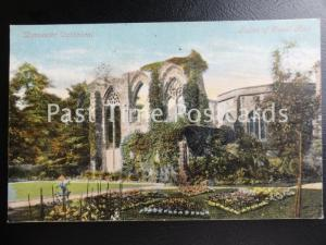 c1908 - Worcester Cathedral, Ruins of Guest Hall