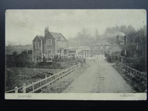 Hampshire DUNBRIDGE Mottisfront & Dunbridge Railway Station c1909 Postcard