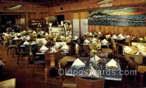 Treasure Island Florida USA The Kingfish Restaurant Old Vintage Antique Postc...