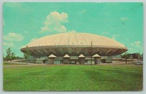 Champaign-Urbana~Univ of Illinois~Assembly Hall 1963 Uncanceled Christmas Stamp