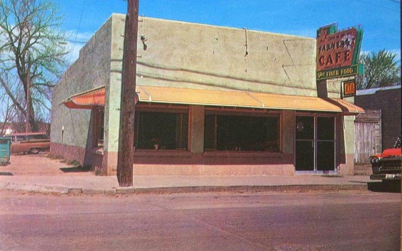 FARMER'S CAFE Wray, CO Roadside Restaurant Diner ca 1950s Vintage Postcard