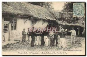 Old Postcard Camp de Mailly The postman has firm Ste Suzanne The new country ...