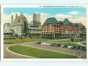 W-Border OLD CARS & MARLBOROUGH-BLENHEIM HOTEL Atlantic City New Jersey NJ u9594
